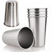 Factory price 304 Stainless Steel 500ml Pint Cups made in China BC1610